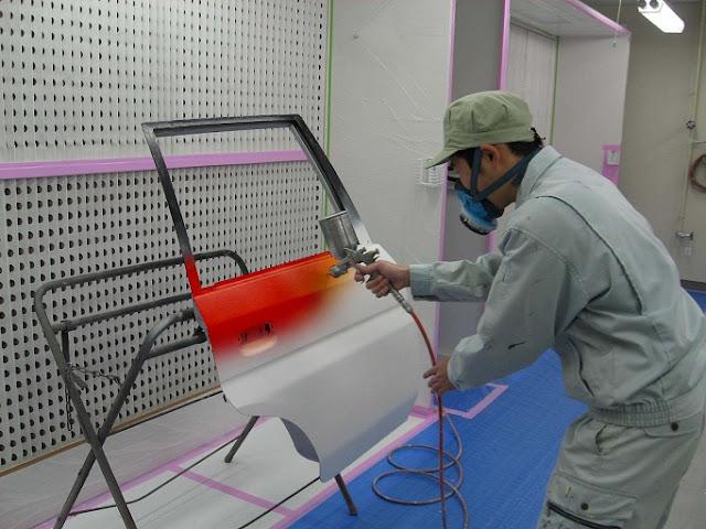 Đơn hàng sơn kim loại cần 9 nam làm việc tại Tochigi Nhật Bản tháng 11/2017