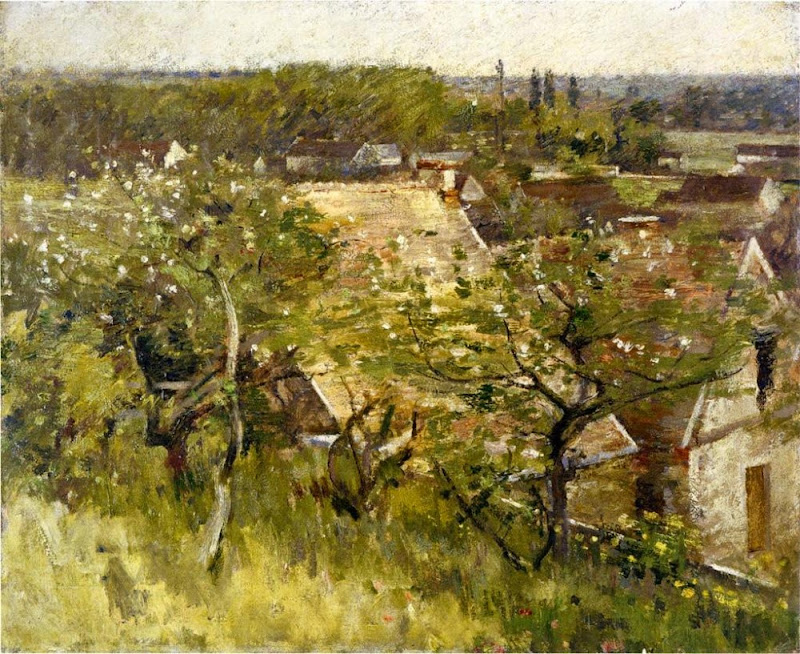 Theodore Robinson - In the Orchard, 1889