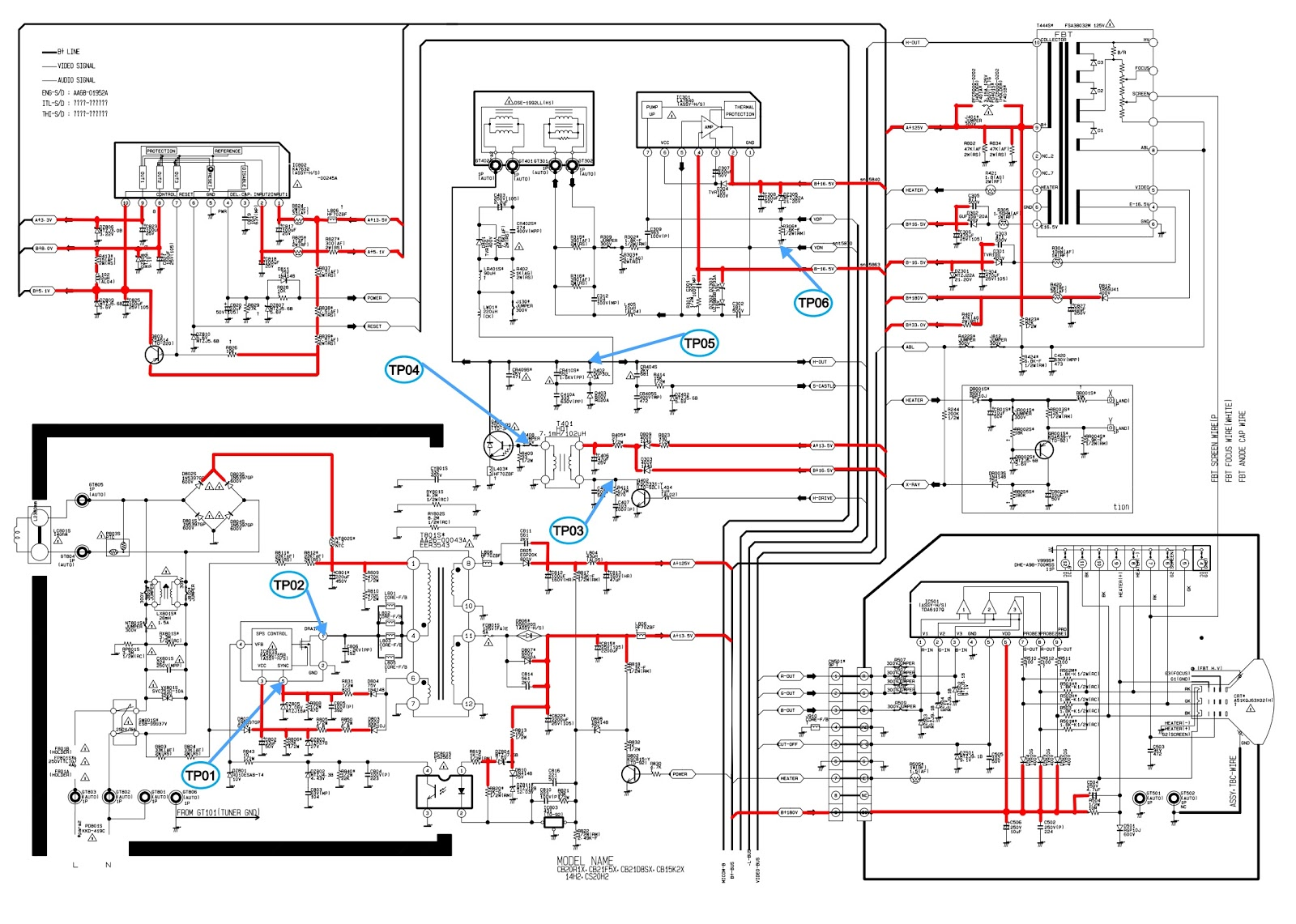 T V Circuit Diagram Expert Wiring Simple Led Schematic Flashingledunitcircuit Samsung Cs21m16mjzxnwt Crt Tv How To Enter The Service Mode R134a Onechip And Micom