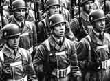 Германские парашютисты на параде