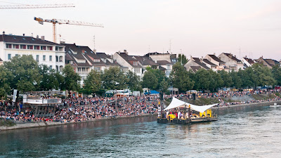 Kulturfloss auf dem Rhein