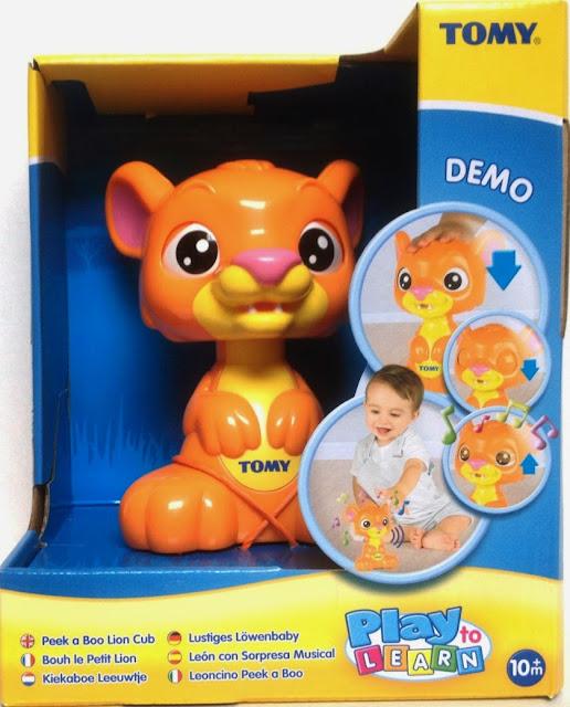 Đồ chơi Sư tử con phát nhạc sản xuất bởi hãng Tomy