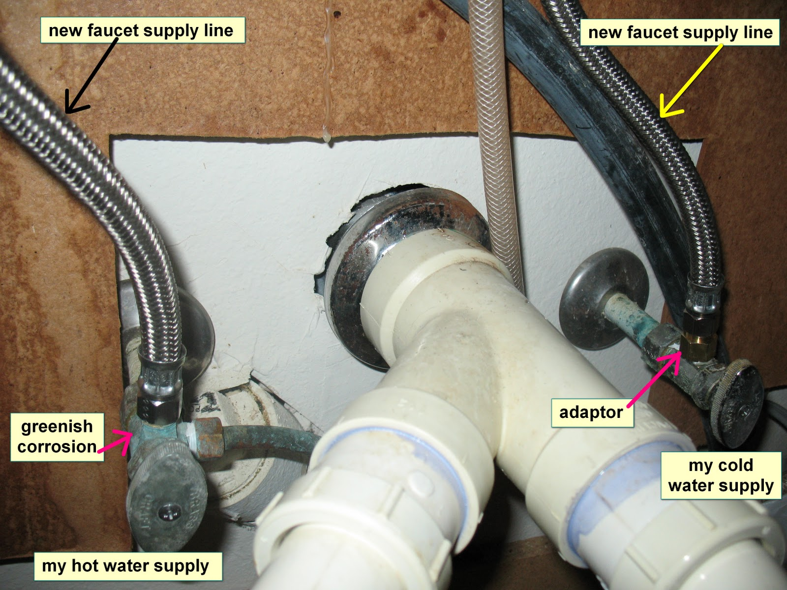 kitchen sink leaking