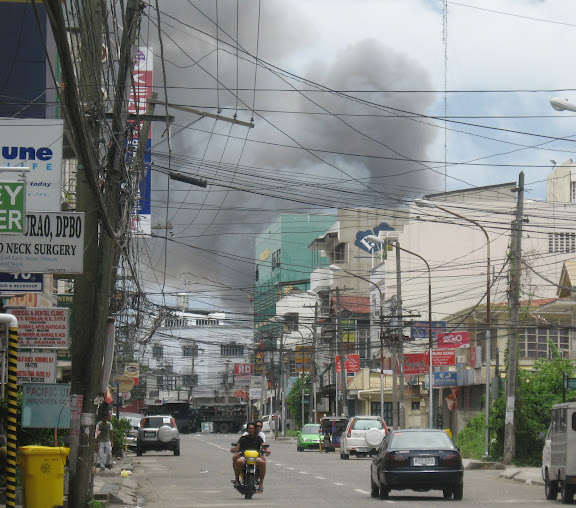 Zambo fresh fighting, fire