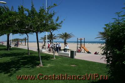 CostablancaVIP, пляж на Коста Бланка, недвижимость в Испании