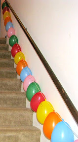 Balloon Garland Birthday decorations