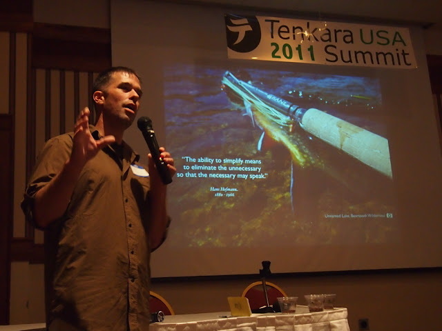 Ryan Jordan talking about tenkara