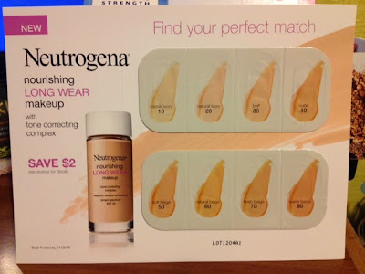 Neutrogena Nourishing Long Wear Makeup SPF 20 Foundation -- intrice.blogspot.com