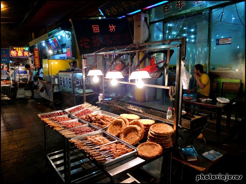 Mercado del Barrio Musulmán de Xi'an