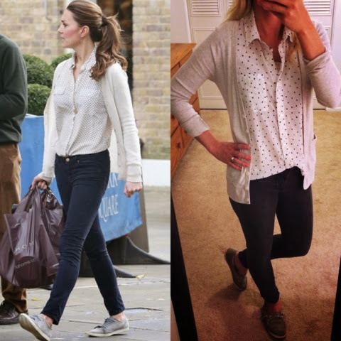 Kate Middleton casual looks for less