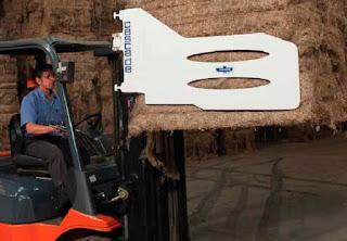 Xe nâng kẹp vuông Bale Clamp