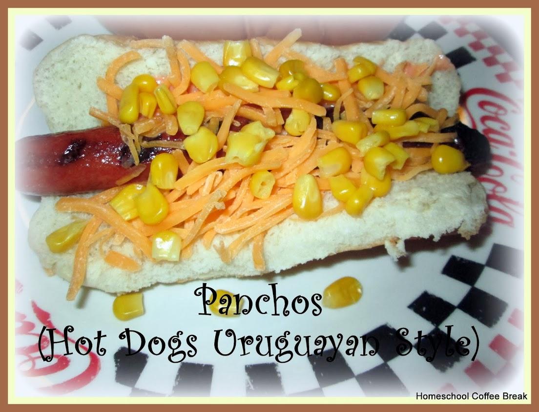 Eating the Americas - Panchos on Homeschool Coffee Break @ kympossibleblog.blogspot.com