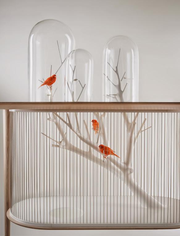 *景觀鳥籠書桌:法國藝術家Grégroire de Laforrest愜意的結合 2