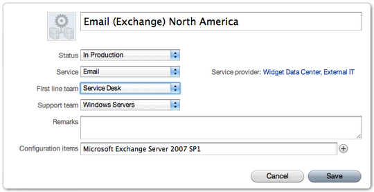 Email Service Instance