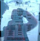Sinaia, tarife 2012 schi la telegondola de la 1400