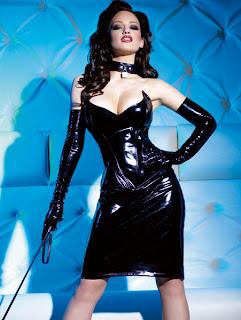 PVC Corset & Skirt Set