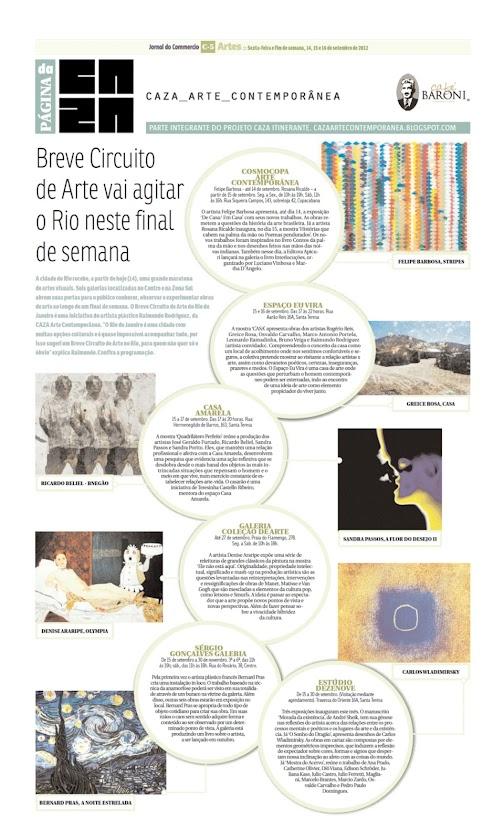 Página da Caza - 14 de Setembro de 2012