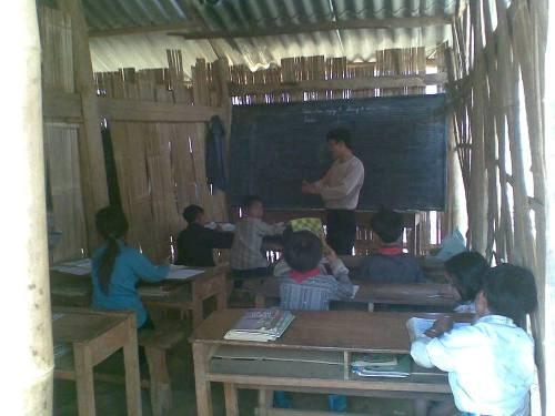 Thơ giáo viên vùng sâu vùng xa