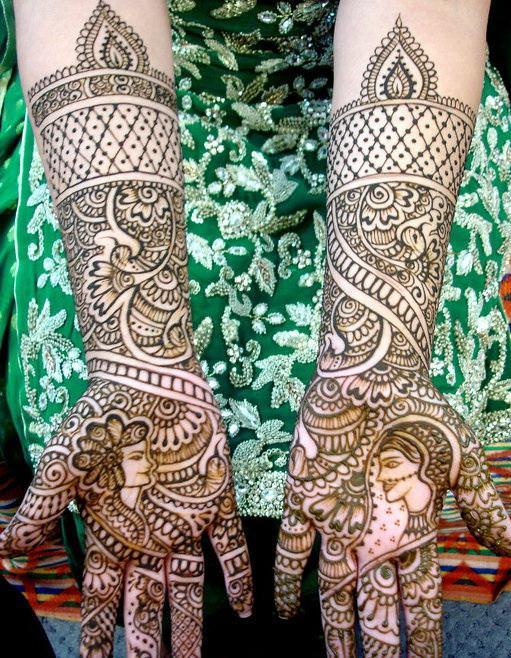 Street Mendhi Designs Unique Indian Wedding Ceremony New Clothes