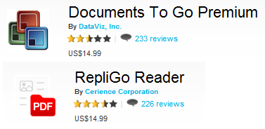 document to Go dan Repligo Reader