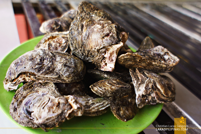 Oysters at Bacolod's Manokan Country