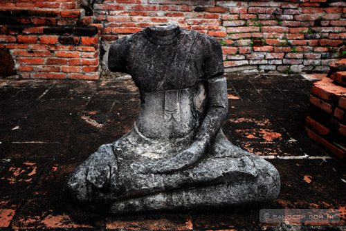 Beheaded Buddha Statue