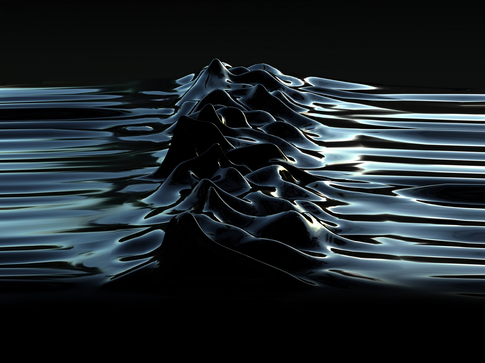 Morph Unknown Pleasures 2003 Latex By Morph For Peter Saville