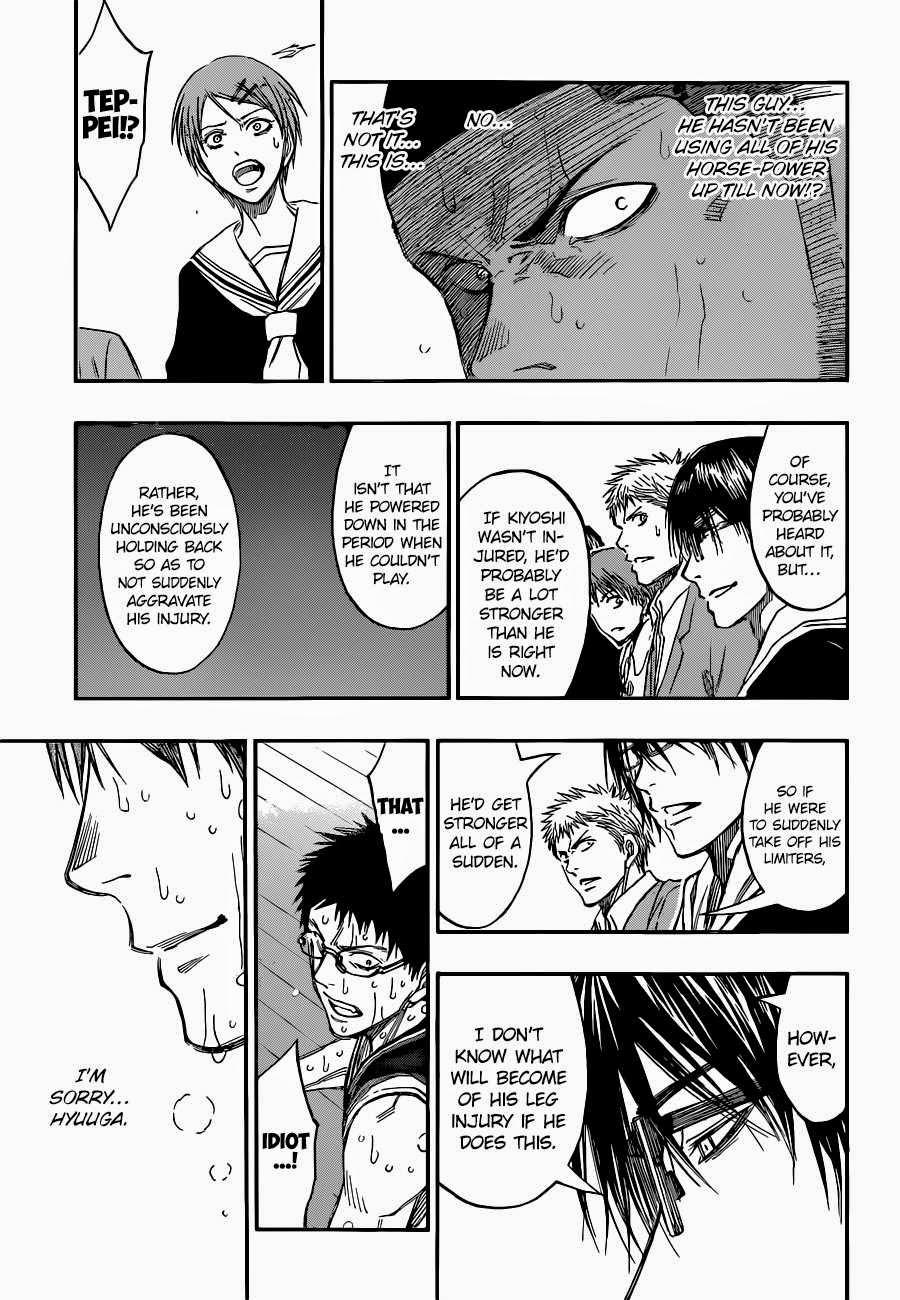 Kuroko no Basket Manga Chapter 258 - Image 15