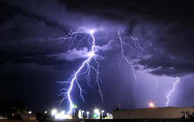 Lightning Storm - Roswell, New Mexico (July 2010)