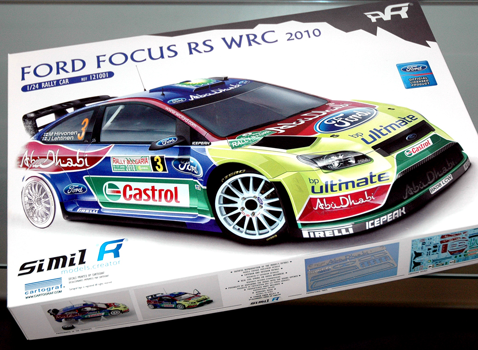 Brave New Ford Focus Rally Racer From Simil R A New
