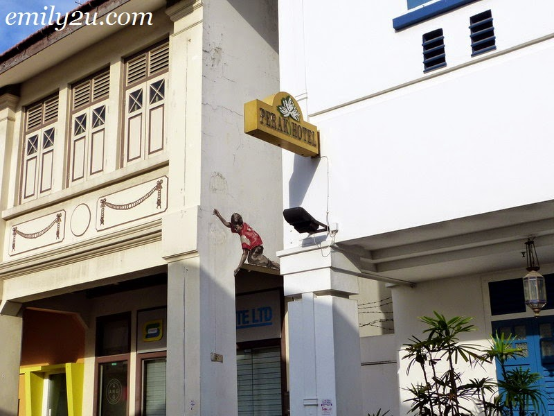 Ernest Zacharevic Street Art Singapore locations