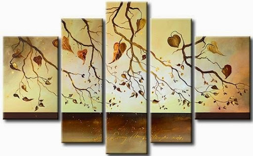 Modern Oil Painting On Canvas abstract painting Guarant