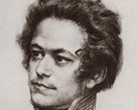 Porträt des jungen Karl Marx.