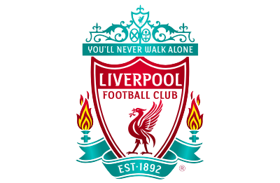 Liverpool Football Club logo mockup