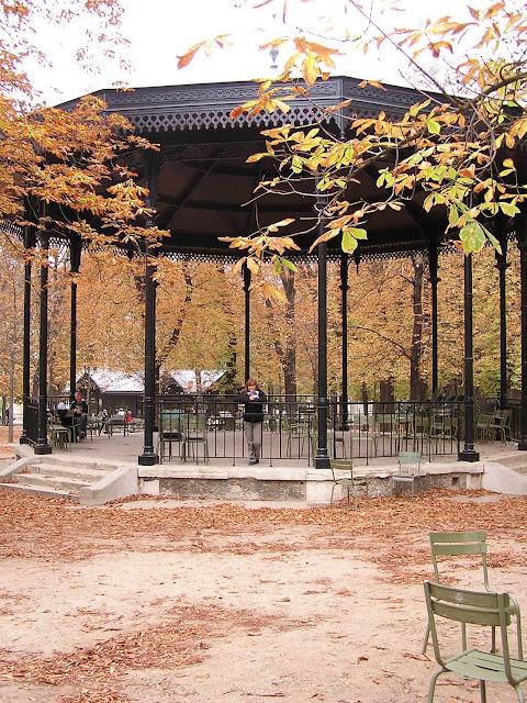 Kiosco de música, Jardines de Luxemburgo, París, Elisa N, Blog de Viajes, Lifestyle, Travel