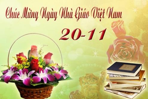 Thơ chúc mừng 20-11