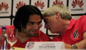 Entrevista Radamel falcao previo Millonarios Atletico Madrid