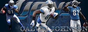 Detroit Lions Calvin Johnson Facebook Cover Photo