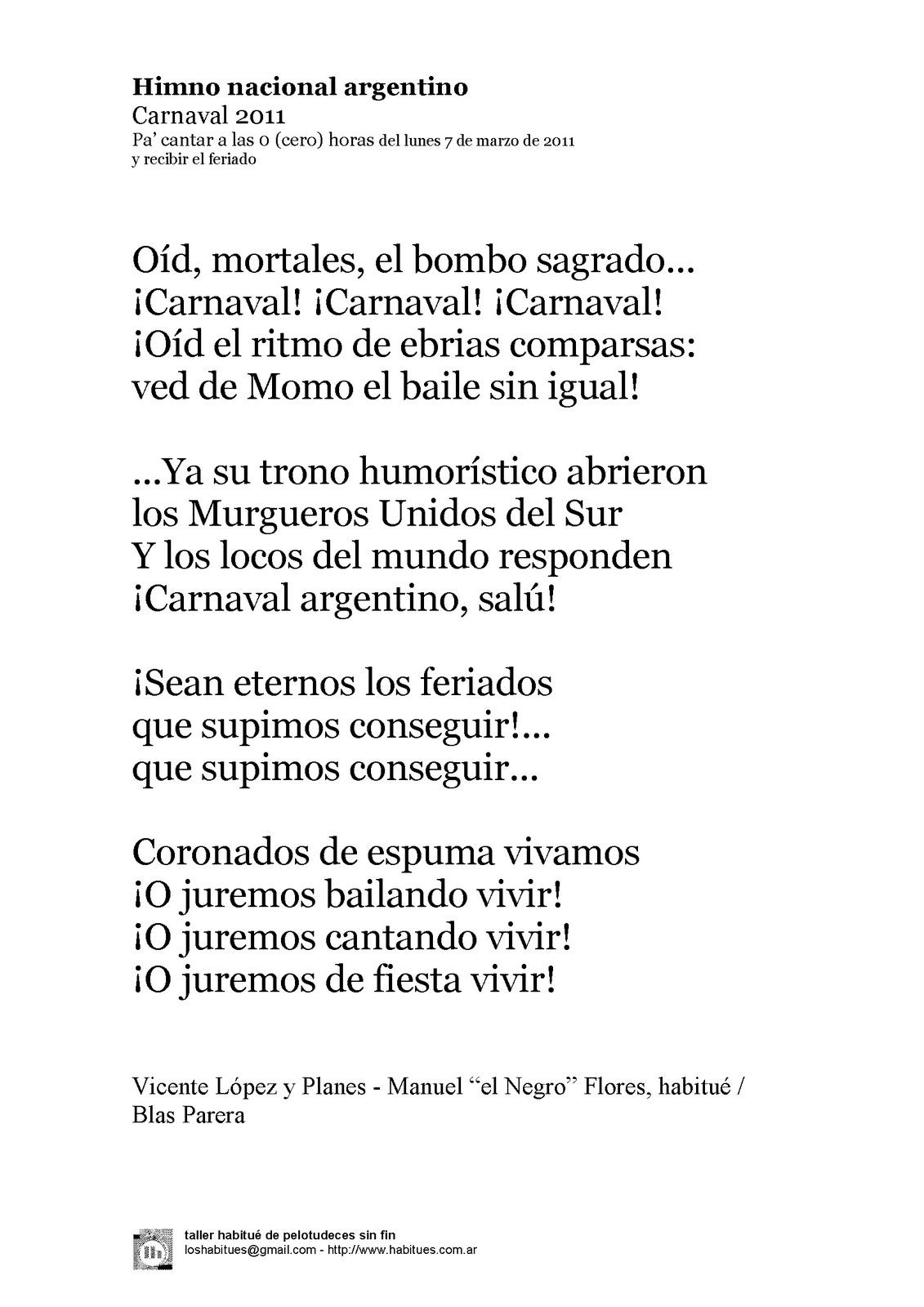 Himno Nacional Pa Recibir El Feriado