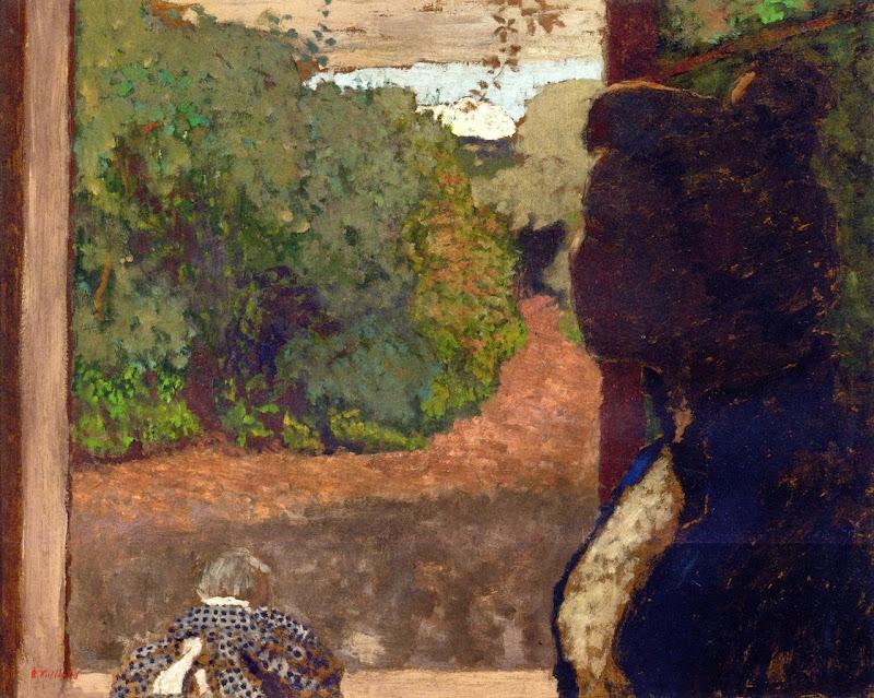 Édouard Vuillard - At the Window