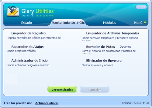 Alternativa gratis de TuneUp Utilities