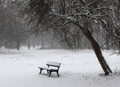 Thơ lục bát họa ảnh mùa đông