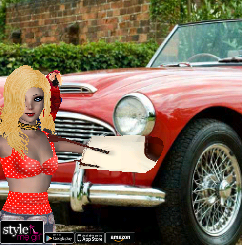 Style Me Girl Level 17 - Jana - 60s Pin Up