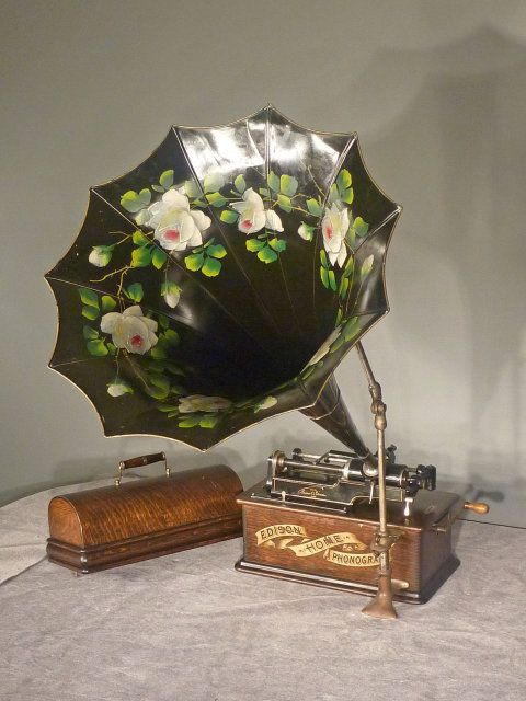 morning glory cylinder music player