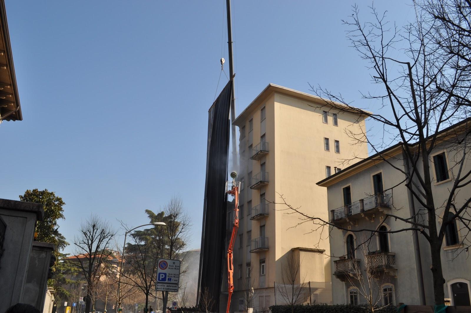 Trebor Apac Photos Demolizione Villa Lieta Via Anzani