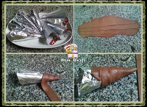 Canudinho de chocolate recheado