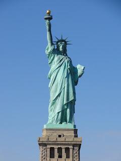 La statue de la liberté!!