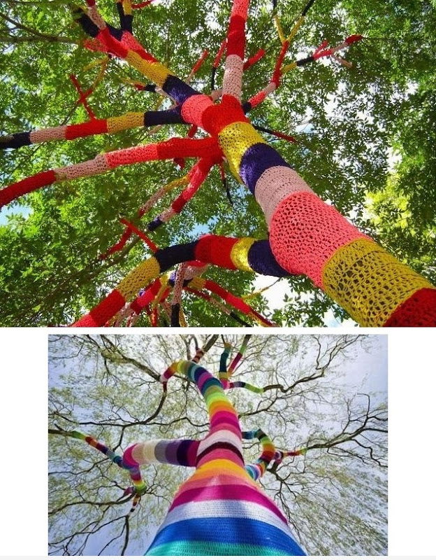 Knitted Tree By Carol Hummel