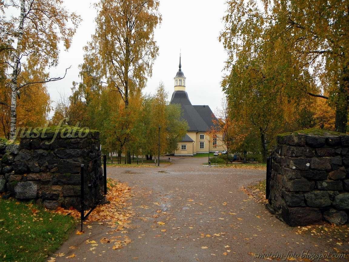 Лютеранская церковь Лаппе Лаппеенранта фото