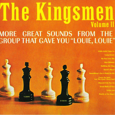 "the Kingsmen ~ 1964 ~ More Great Sounds From The Group That Gave You ""Louie, Louie"""